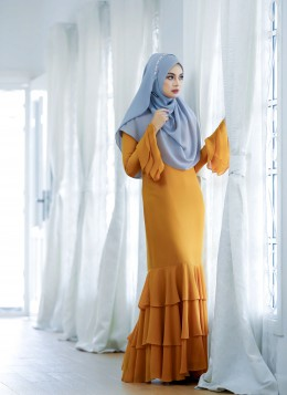 EMBUN DRESS - Apricot