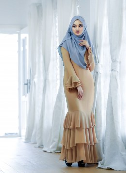 EMBUN DRESS - Beige