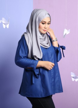 TIFFANY BLOUSE - Electric Blue