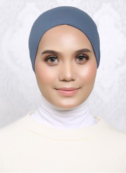 PLAIN SNOW CAP - Blue