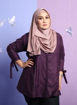 TIFFANY BLOUSE - Purple