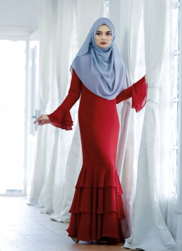 EMBUN DRESS - Red