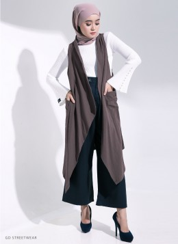 KYLIE CARDIGAN - Brown