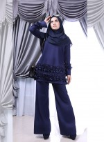 CABALENA SUIT - Navy Blue