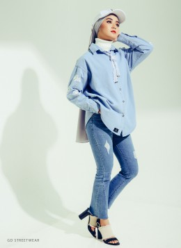 SARRA DENIM - D1 - Light Blue