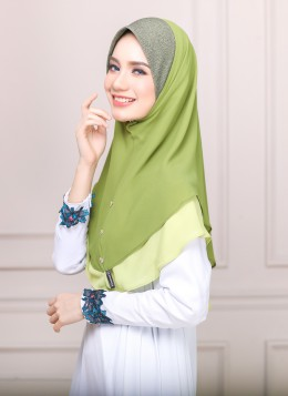TUDUNG MELOR - Lime