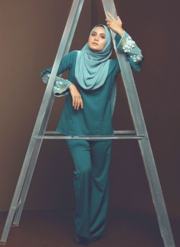 BUNGA SUIT - Teal