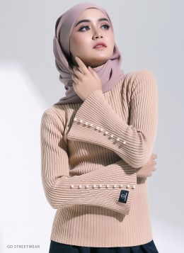 NELLY KNITTED INNER - Cream