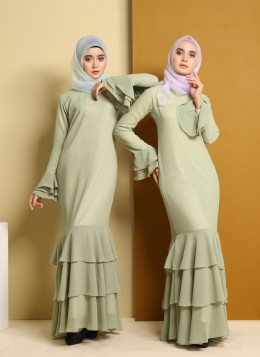 EMBUN DRESS - Green Tea