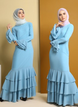 EMBUN DRESS - Skyblue